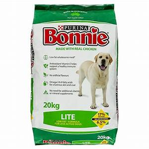 Purina bonnie dog food lite 20kg petbarn for Petbarn dog food