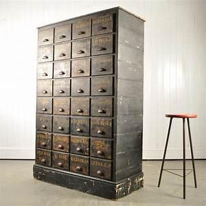 meuble d39apothicaire a tiroir angleterre 1900 en vente With meuble apothicaire