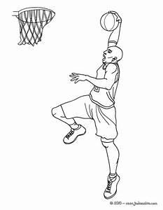 Coloriages U00e0 Imprimer Basketball Numu00e9ro 573486