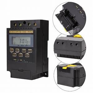 Kg316t Ii Ac220v 25a Din Rail Lcd Digital Programmable