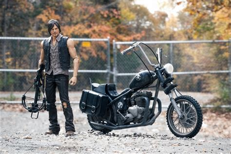 Daryl Dixon With Chopper (the Walking Dead Tv Series