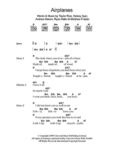 Local Natives Ceilings Tab by Airplanes Sheet By Local Natives Lyrics Chords