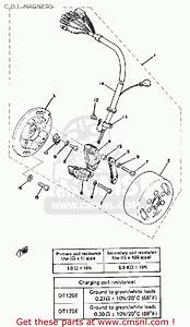 Yamaha Dt175 1978 Usa C D I  Magneto