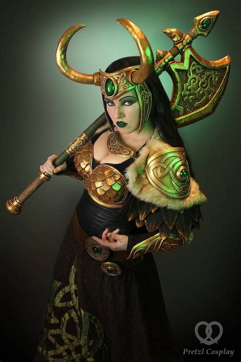 Signed Cosplay Print Of Lady Loki Cosplay By Etsy