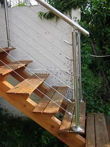 Escalier Extérieur En Bois : fabriquer escalier bois exterieur ~ Dailycaller-alerts.com Idées de Décoration