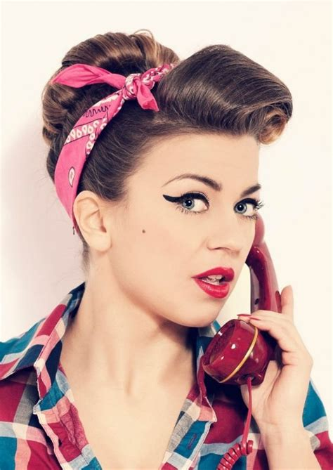 50s Pin Up Hairstyles by 50s Hairstyles Ideas To Look Classically Beautiful 50s