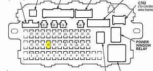 2004 honda crv fuse box diagram fuse box and wiring diagram With honda crv fuse box