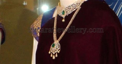 complete diamond wedding jewelry  pmj jewellery designs