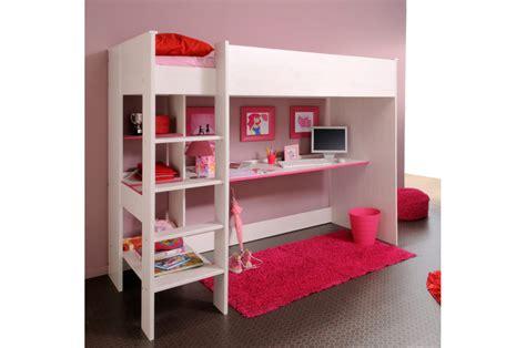 lit surélevé bureau lit sureleve avec bureau maison design wiblia com