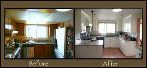 before and after kitchen remodel decor design idea and With kitchen design photos before and after