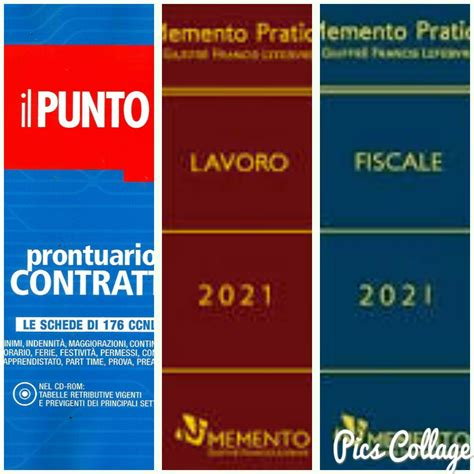 prontuario contratti 2021 con cd rom memento lavoro 2021