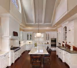 cathedral ceiling kitchen lighting ideas dramatic vaulted ceiling in kitchen traditional kitchen charleston by christopher a