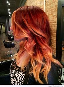 Red and blonde hair idea – Watch out Ladies