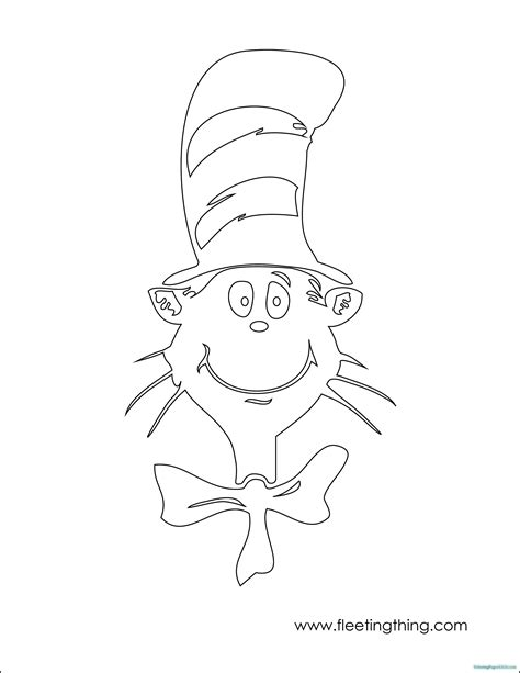 Cat In The Hat Coloring Pages Coloring Pages For Kids