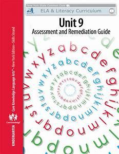 Kindergarten  Skills Unit 9 Assessment And Remediation Guide