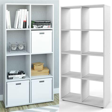 Bookcase Room Divider Standing Shelving Filing Shelves