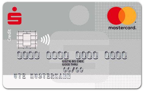 mastercard oder visa  beantragen