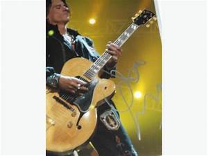 JOE PERRY 11x14 Hand Signed Photo an Tour Used Guitar Pick ...