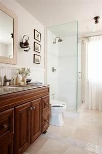 beaucoup d39idees en photos pour une salle de bain beige With salle de bain beige et bois