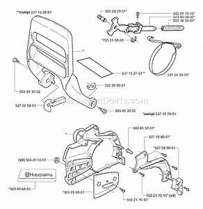 Husqvarna 353 Chainsaw Parts Manual
