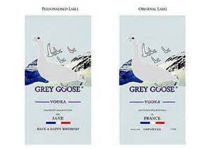 15 cake topper grey goose vodka label cake topper cake toppers