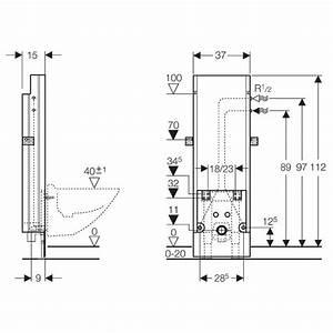 Abstand Wc Wand : geberit sanbloc baustein f r bidet 112 cm eckventile ~ Lizthompson.info Haus und Dekorationen