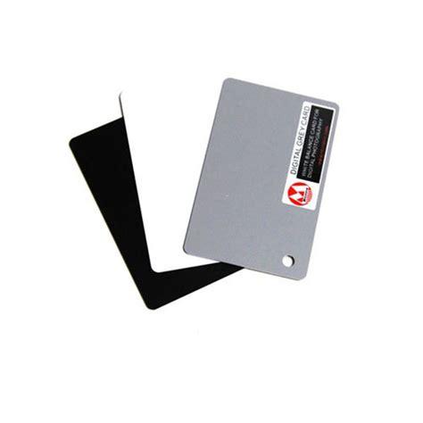 Grey card white balance card 18% exposure card custom calibration camera checker. DIGITAL GRAY CARD