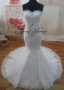 Robe De Mariee Sirene : robe de mariee sirene en dentelle avec cape assortie ~ Melissatoandfro.com Idées de Décoration