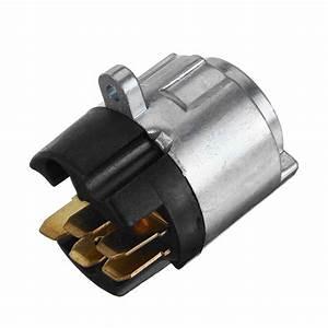 Ignition Lock Barrel Starter Switch Replacement Kit Metal