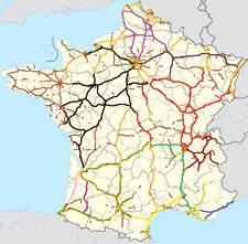 Carte De France Autoroute : carte de france routes nationales pays lamer ~ Medecine-chirurgie-esthetiques.com Avis de Voitures