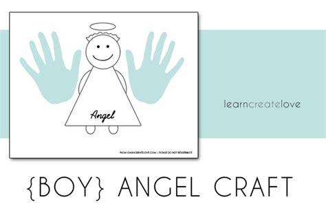 Printable Angel Craft Just Add Handprints