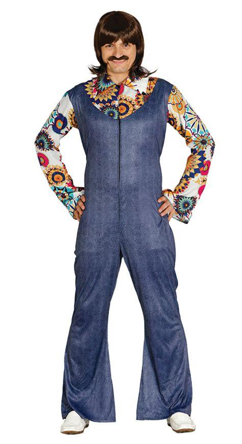 80er kostüm herren herren kost 252 m 80er jahre jeansoverall hemd jumpsuit gr m schlagerparty fasching kost 252 me co 20