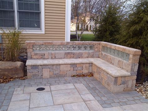 landscaping blocks glass block in landscaping traditional landscape other metro by glass block specialties