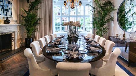 decorating ideas modern beautiful dining table setting