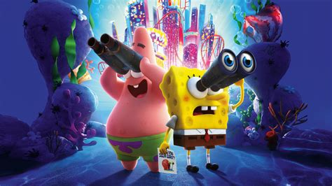 spongebob  sponge   run  laptop