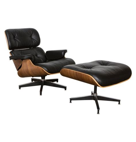 Eames Chair And Ottoman Replica by Replica Eames Premium Lounge Chair And Ottoman Mattblatt