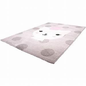 Kinderteppich Grau Rosa : bezaubernder kinderteppich katze lola polka rosa grau 100 polypropylen kotex 100 ~ Eleganceandgraceweddings.com Haus und Dekorationen