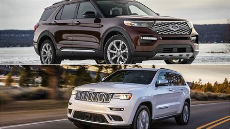ford explorer   jeep grand cherokee top speed
