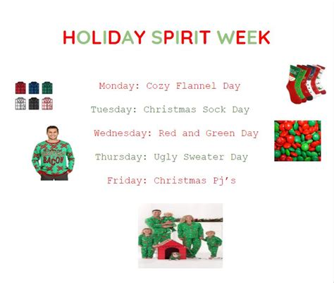 Tuesday, december 15th think christmas and decorate yourself! Holiday Spirit Week - Tyrone Eagle Eye News