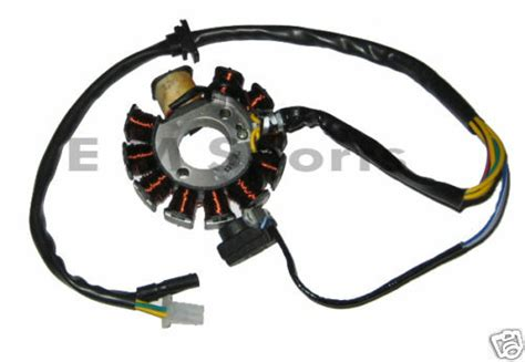 Gas Chinese Gy6 Scooter Moped Motor Stator Magneto 125cc