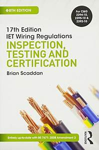 Pdf  17th Edition Iet Wiring Regulations  Inspection