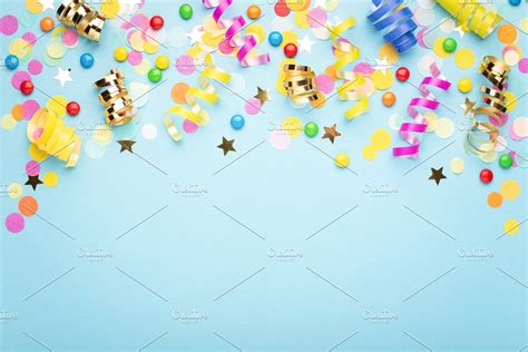 birthday party background  high quality holiday stock