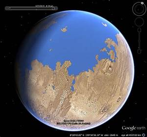 How Does Icy Work Oceans On Mars Google Earth Blog