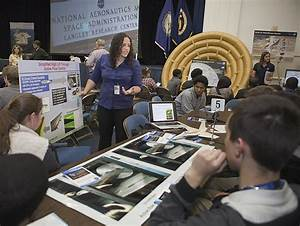 NASA - Career Day Exposes Engineering Options to Students
