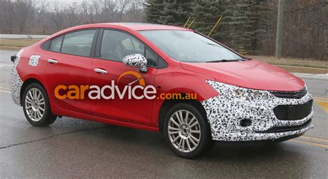 chevroletholden cruze hybrid spied australia  hot