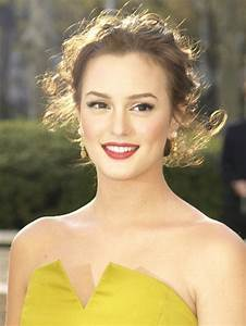 Leighton Meester. Great makeup and hair. She's so ...