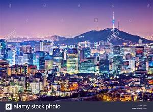 Seoul Skyline Night Stock Photos & Seoul Skyline Night ...