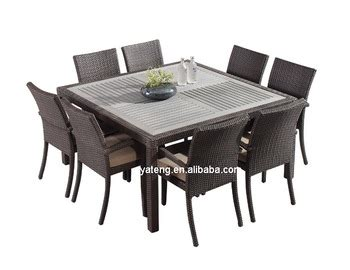 foshan garden supplier directly wholesale rattan outdoor