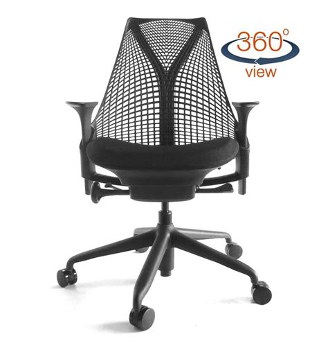 Herman Miller Sayl Chair Uk by Next Day Delivery Herman Miller Sayl Standard All Black