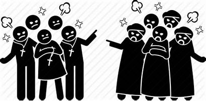 Clipart Conflict Religious Icon Social Issues Transparent